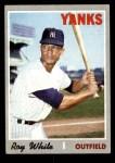 1970 Topps #373  Roy White  Front Thumbnail