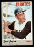 1970 Topps #643  Jose Pagan  Front Thumbnail