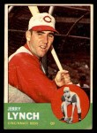 1963 Topps #37  Jerry Lynch  Front Thumbnail