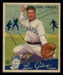 1934 Goudey #58  Earl Grace  Front Thumbnail