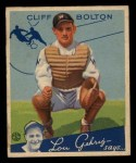 1934 Goudey #65  Cliff Bolton  Front Thumbnail