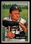 1951 Bowman #66  Bob Elliott  Front Thumbnail