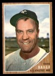 1962 Topps #463  Hank Bauer  Front Thumbnail