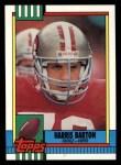 1990 Topps #16  Harris Barton  Front Thumbnail
