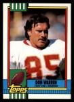 1990 Topps #132  Don Warren  Front Thumbnail