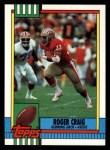 1990 Topps #12  Roger Craig  Front Thumbnail