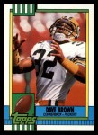 1990 Topps #150  Dave Brown  Front Thumbnail
