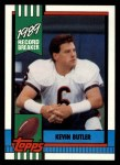 1990 Topps #4   -  Kevin Butler Record Breaker Front Thumbnail
