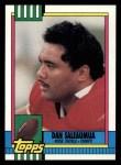 1990 Topps #249  Dan Saleaumua  Front Thumbnail