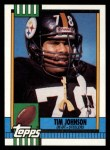 1990 Topps #176  Tim Johnson  Front Thumbnail