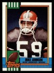 1990 Topps #166  Mike Johnson  Front Thumbnail