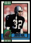 1990 Topps #289  Marcus Allen  Front Thumbnail