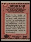 1990 Topps #180  Tunch Ilkin  Back Thumbnail