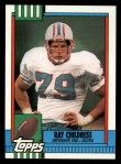 1990 Topps #218  Ray Childress  Front Thumbnail