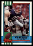 1990 Topps #199  Pete Metzelaars  Front Thumbnail