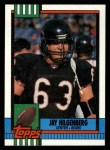 1990 Topps #378  Jay Hilgenberg  Front Thumbnail