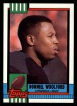 1990 Topps #379  Donnell Woolford  Front Thumbnail