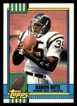 1990 Topps #383  Marion Butts  Front Thumbnail