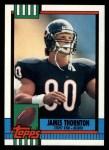 1990 Topps #374  James Thornton  Front Thumbnail
