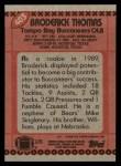 1990 Topps #403  Broderick Thomas  Back Thumbnail