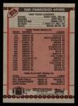 1990 Topps #515   49ers Highlights Back Thumbnail