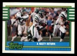1990 Topps #517   Jets Highlights Front Thumbnail