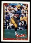 1991 Topps #130  Harvey Williams  Front Thumbnail