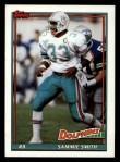 1991 Topps #124  Sammie Smith  Front Thumbnail