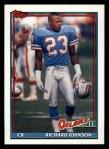 1991 Topps #237  Richard Johnson  Front Thumbnail