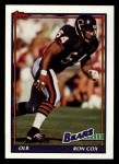 1991 Topps #170  Ron Cox  Front Thumbnail