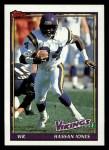 1991 Topps #380  Hassan Jones  Front Thumbnail