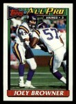 1991 Topps #378  Joey Browner  Front Thumbnail