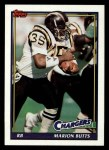 1991 Topps #425  Marion Butts  Front Thumbnail