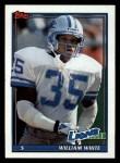1991 Topps #407  William White  Front Thumbnail