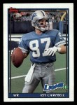 1991 Topps #411  Jeff Campbell  Front Thumbnail