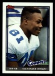 1991 Topps #362  Alexander Wright  Front Thumbnail