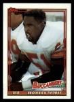 1991 Topps #501  Broderick Thomas  Front Thumbnail