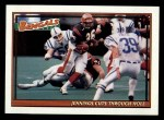 1991 Topps #631   -  Stanford Jennings / James Brooks / Eddie Brown / Barney Bussey / David Fulcher / James Francis  Bengals Leaders Front Thumbnail