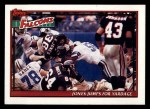 1991 Topps #628   -  Keith Jones / Mike Rozier / Andre Rison / Tim Green / Jessie Tuggle Falcons Leaders Front Thumbnail