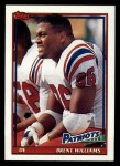 1991 Topps #624  Brent Williams  Front Thumbnail