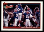 1991 Topps #629   -  Jeff Wright / Thurman Thomas / Andre Reed / Kirby Jackson / Bruce Smith / Darryl Talley Bills Leaders Front Thumbnail