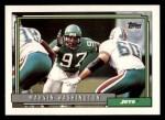 1992 Topps #13  Marvin Washington  Front Thumbnail