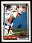 1992 Topps #239  Bruce Matthews  Front Thumbnail