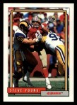 1992 Topps #191  Steve Young  Front Thumbnail