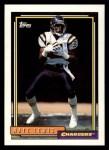 1992 Topps #255  Nate Lewis  Front Thumbnail