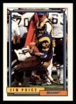 1992 Topps #355  Jim Price  Front Thumbnail