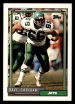 1992 Topps #344  Dave Cadigan  Front Thumbnail
