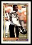 1992 Topps #387  Derrick Walker  Front Thumbnail