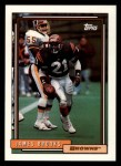 1992 Topps #509  James Brooks  Front Thumbnail