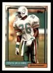 1992 Topps #538  Jarvis Williams  Front Thumbnail